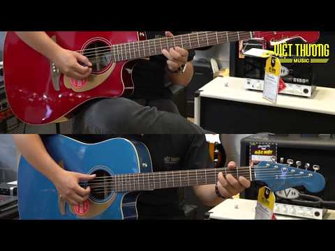 Demo guitar Fender California series