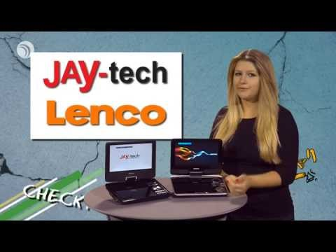 CHECK! Tragbare DVD-Player: Lenco DVP-945 vs. Jay-tech PD913T