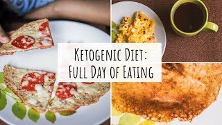 What My Husband Eats In A Day on the Keto Diet #2 | Keto Diet Full Day of Eating - Indian