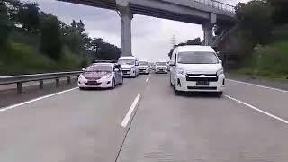 Konvoy Hiace Boavista Rent Car Semarang – Kampanye tidak takut Corona
