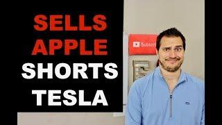 BILLIONAIRE SELLS APPLE & SHORTS TESLA  WHY?