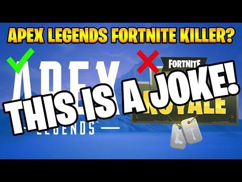 Apex Legends Is NOT Killing Fortnite... FORTNITE IS