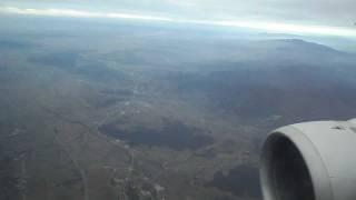 preview picture of video 'Landing to Zagreb (Slijetanje u Zagreb)'