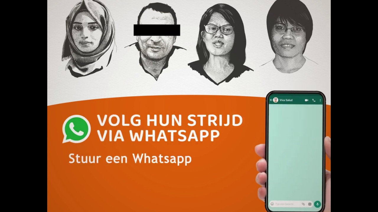 Only Fighters Win: volg hun verhalen via WhatsApp