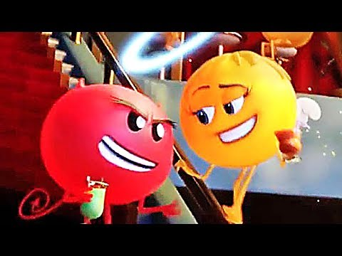 THE EMOJI MOVIE - ALL the Movie Clips + Trailers ! (Animation, 2017)