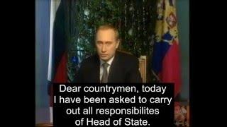 """""""To the new Russian century!"""" - Putin, 1999"""