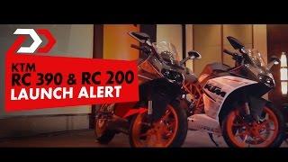 Launch Alert : KTM RC 390 & RC 200 : PowerDrift
