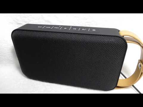 bauhn m600d splashproof outdoor bluetooth speaker from aldi