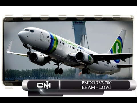 [P3D V4.1] PMDG 737 NGX | Flights By Request | EHAM to LOWI