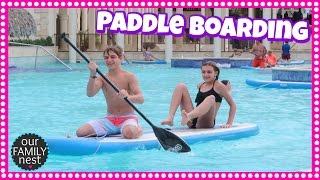 WHO GOT IN A FIGHT? PADDLE BOARDING & EGG HUNT WINNERS