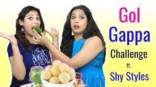Desi GOLGAPPA Challenge Ft. Shy Styles | #Fun #Sketch #ShrutiArjunAnand