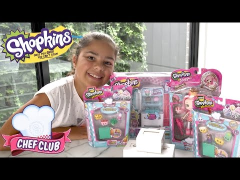 Grace's Room - Shopkins Chef Club Sets and Jewellery