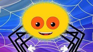 Incy Wincy แมงมุม | บทกวีไทยสำหรับเด็กทารก | บทกวีแมงมุมสำหรับเด็กวัยหัดเดิน | Incy Wincy Spider