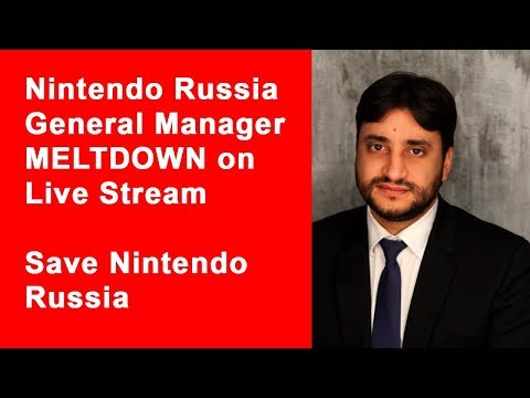 "Nintendo of Russia CEO swears, calls host a ""retard"" on a Mario Kart livestream aimed at kids"