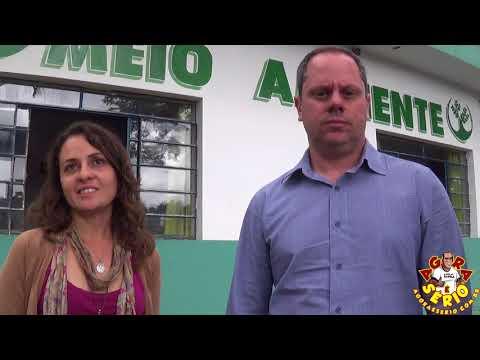 Kena chefe de gabinete apresenta a nova Secretária de Meio Ambiente de Juquitiba Carolina Rosa Cassão Nogueira