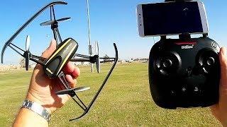 DROCON Navigator UDI U31W Telemetry 720p HD FPV Camera Drone Flight Test Review