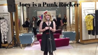 Joey is a Punk Rocker (Joe Iconis cover) live at Neiman Marcus | Dovelybell