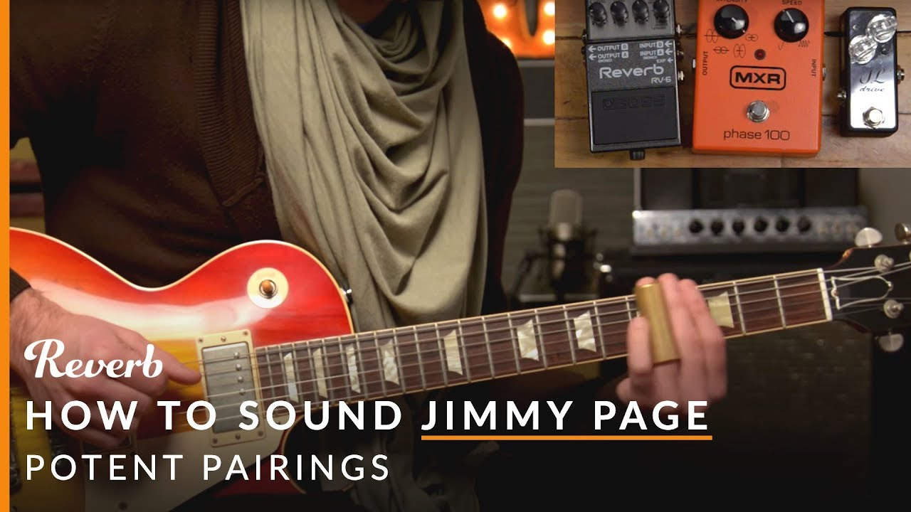 how to sound like jimmy page with pedals from delicious audio the stompbox. Black Bedroom Furniture Sets. Home Design Ideas