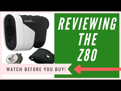 Garmin Approach Z80 Laser Rangefinder Review | HONEST Opinion (2018)