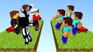 КОМАНДА ЮТУБЕРОВ ИГРАЕТ В БЕД ВАРС! - (Minecraft Bed Wars)