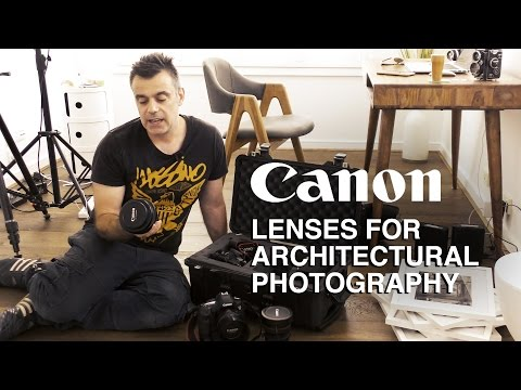 What's in My Camera Bag - Canon Architectural Photography Lenses