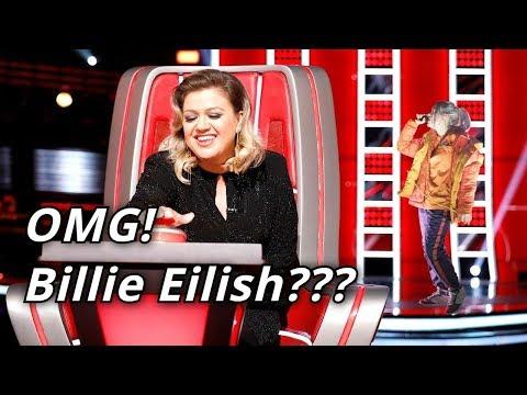 BILLIE EILISH in The Voice (Kids)   Blind Auditions   BEST Billie Eilish Covers