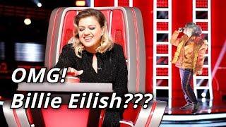 BILLIE EILISH In The Voice (Kids) | Blind Auditions | BEST Billie Eilish Covers