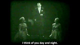 Frank Sinatra - Night and Day - Live On TV 1957 - with Lyrics