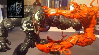 Spiderman Stop Motion- Venom vs Carnage Stop Motion