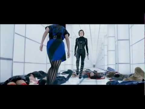 Resident Evil 5: Retribution. White Corridor Fight Scene. HD 1080p. Mp3