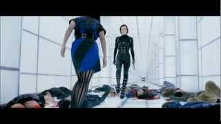 Resident Evil 5: Retribution. White Corridor Fight Scene. HD 1080p.