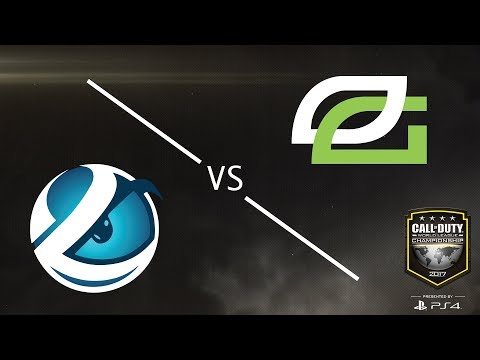 Optic Gaming vs Luminosity - CWL Championship Sunday 2017