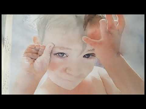 Art Vlog - How to Paint Glowing Skin Tones in Children - A Watercolor Tutorial