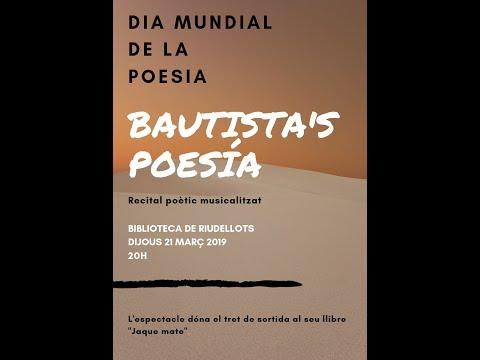Bautista's Poesía. Biblioteca Riudellots