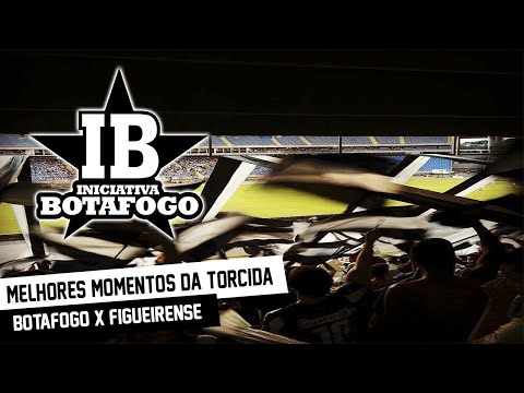 """""""Botafogo x Figueirense - Iniciativa Botafogo na torcida"""" Barra: Loucos pelo Botafogo • Club: Botafogo"""