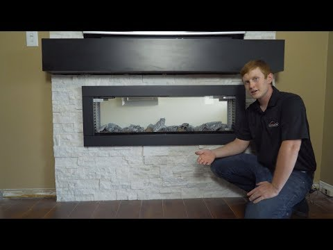 Napoleon CLEARion Electric Fireplace Installation