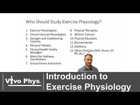 Introduction to Exercise Physiology - YouTube