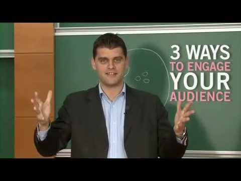 3 Ways To Engage Your Audience