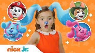 Play Junior Dress Up w/ Blue's Clues & You + PAW Patrol! 🐶 Ep. 8 | Nick Jr.