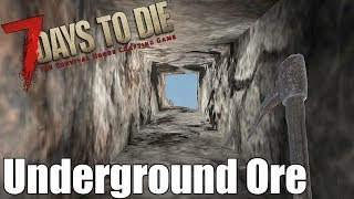 7 Days to Die - Find Underground Ore Easily (Alpha 16)