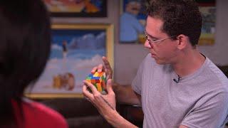 Logic solves Rubik