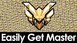 The Easiest Way To Get Master In Overwatch