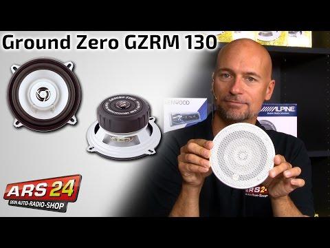 Badlautsprecher und Boot Lautsprecher - Schnäppchen - Ground Zero GZRM 130