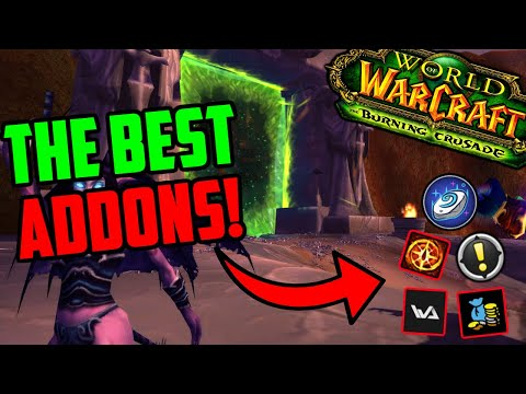 The BEST Addons for TBC Classic