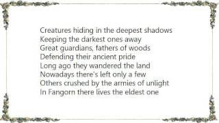 Battlelore - Fangorn Lyrics