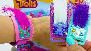 Тролли браслеты. Набор для творчества детей с Троллями. ИДК