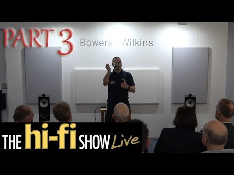 Bowers & Wilkins 700 Series Speaker Demonstration Part 3 @ Hi-Fi Show Live 2017