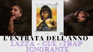 LAZZA   GUCCI SKI MASK (feat. GUE PEQUENO) [Rap Reaction   First Listen]
