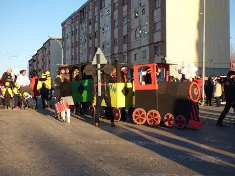 Rua de Carnaval 2018 en Montornès del Vallès, Barcelona 10-02-18