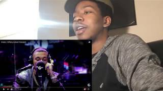 AMERICAN REACTS To Fredo | Tiffany Calver Freestyle 🔥🔥🔥